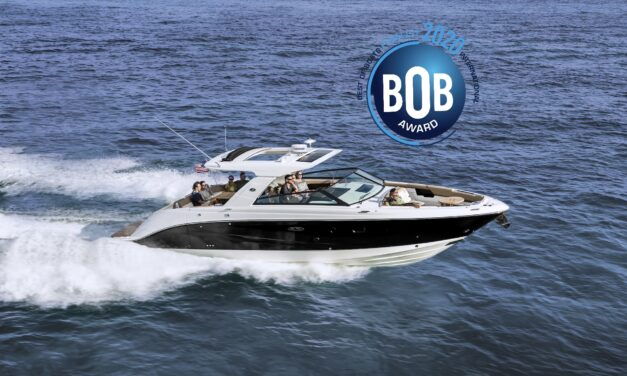 Sea Ray 400 SLX – video z testów w Mandelieu