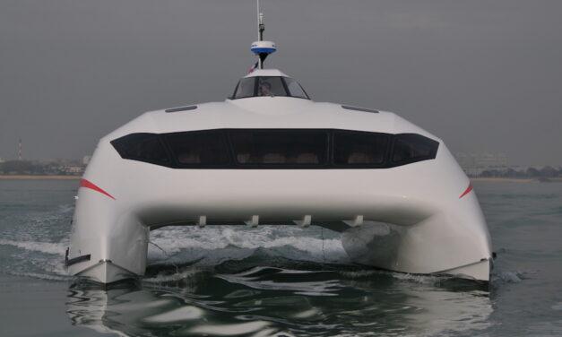 Katamaran Monaco One – Prototyp A2V na próbach
