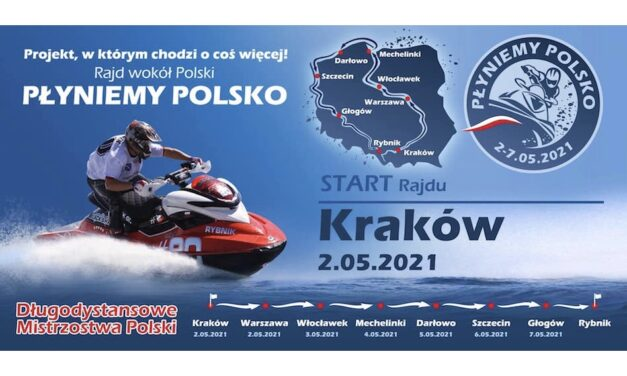 """""""Płyniemy Polsko"""" – Polski Dakar na wodzie"""