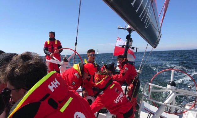 Załoga Sailing Poland wygrała pierwszy wyścig The Ocean Race Europe Prologue!